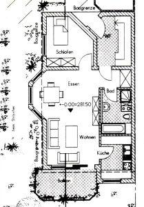 fewo-seyfert Wohnung Grundriss
